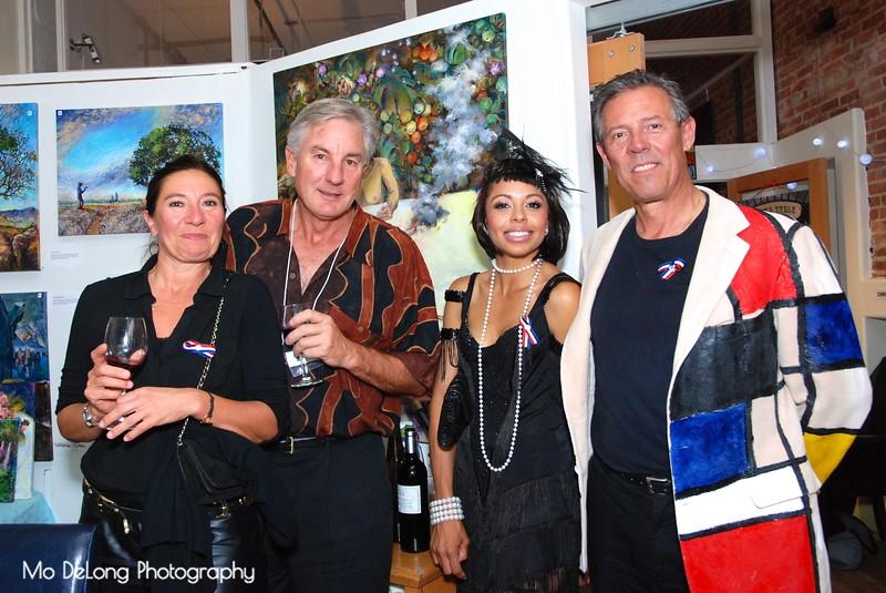 Nathalie Hautavoine, Don Blayney, Calais Preimesberger and Erick Moreau.jpg