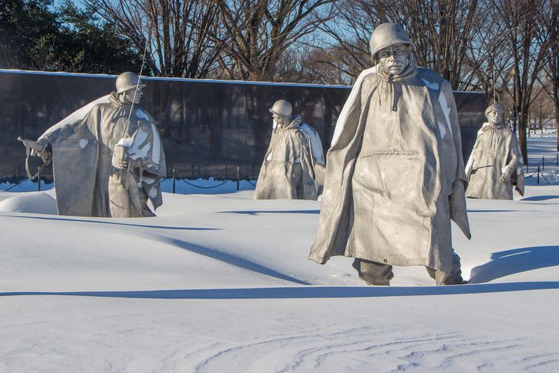 Jan. 24th - Korean War Memorial