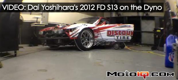 VIDEO: Dai Yoshihara's 2012 Formula D S13 on the Dyno