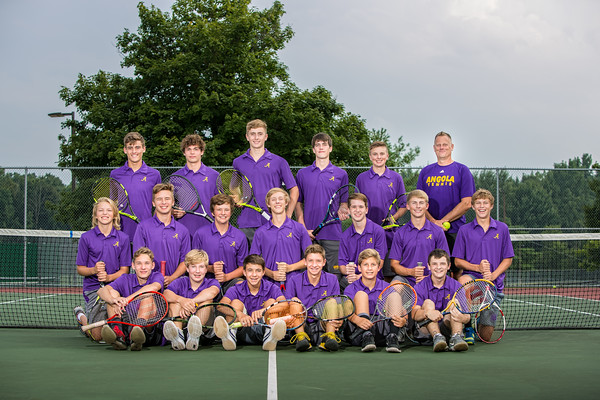 2018 Boys Tennis Team
