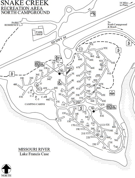 Snake Creek Recreation Area (North Campground)