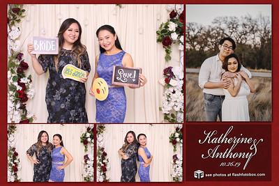 Katherine & Anthony Wedding - October 26, 2019