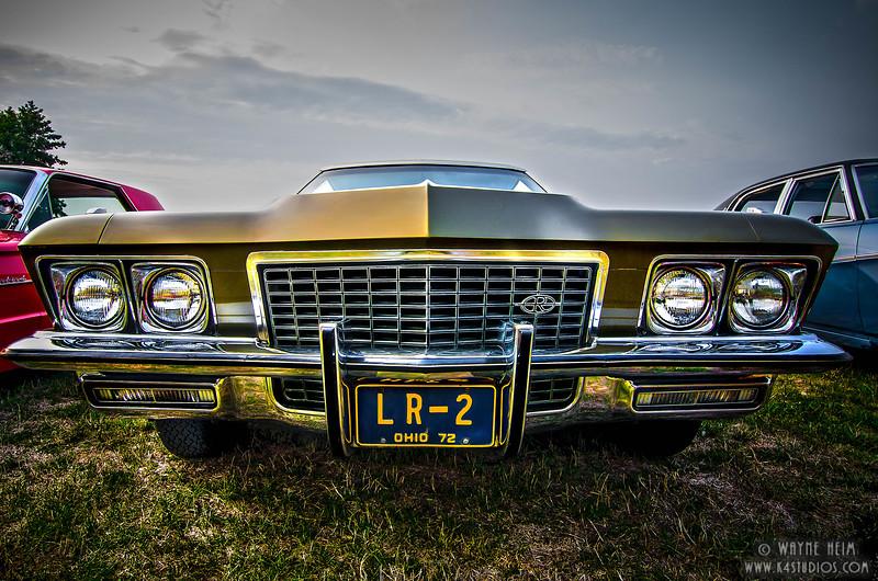 Gold Show Car - Photography by Wayne Heim