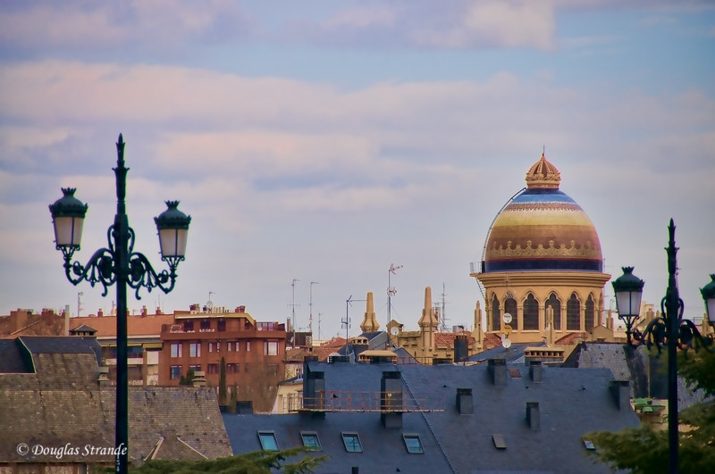 Tue 3/08 in Madrid: Dome of St. Teresa and St. Joseph's church