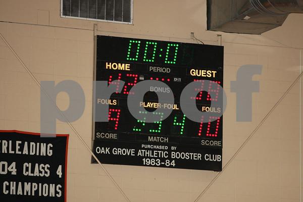 Varsity-Oak Grove vs St. Mary's 1-4-08