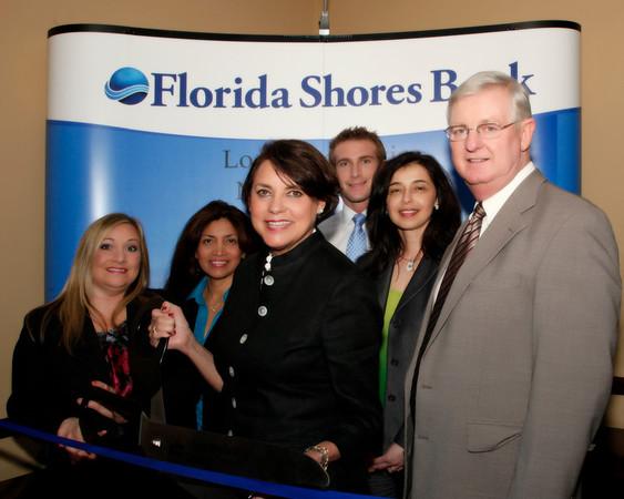 Florida Shores Bank, Boca Raton Ribbon Cutting Ceremony, January 19, 2011 5pm