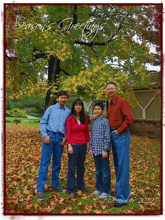 20121202 Holiday Family Photos