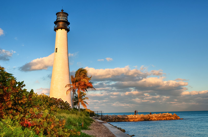 Key Biscayne Light House, Looking East
