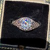1.11ct Old European Cut Diamond Filigree Ring 1