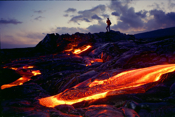 Kilauea-Photos from 1999