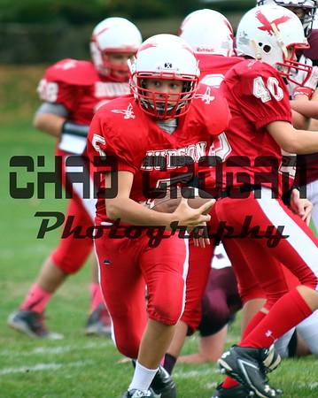 Hudson High 8th Grade football V Millbury Sutton