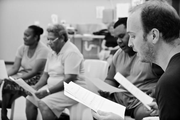 Ailan Kores Rehearsal: Horn Island Choir