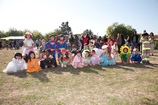 Kindergarten Halloween 2011