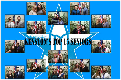 Top 15 Seniors and their favorite Educators