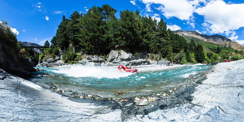 Shotover Jet at Arthurs Point - Queenstown Lakes District