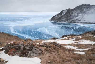 Baykal in the winter