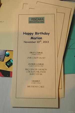 Marion Glicksberg Birthday Party