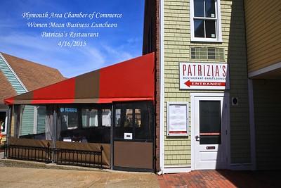 Partrizia's Restaurant  4/16/15