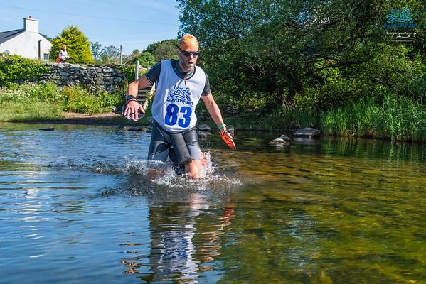 Love Swim Run - Llyn Padarn Swim Start 1