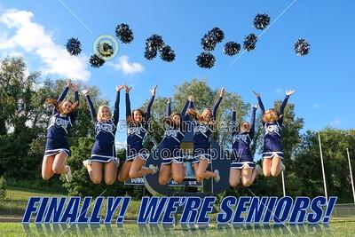 2014 Senior Cheerleaders (07-24-14)