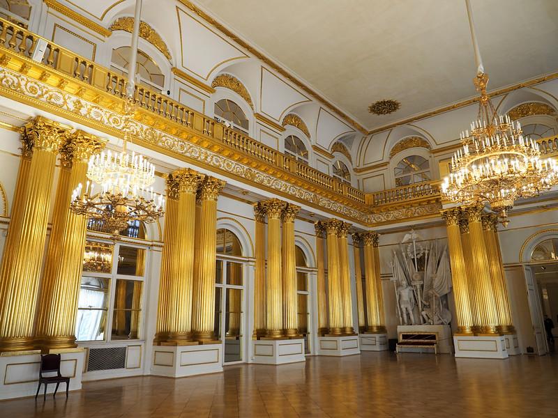 Inside the Hermitage Museum in St. Petersburg