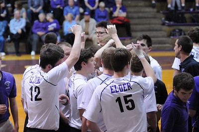 2014 Varsity Volleyball vs  Moeller