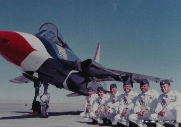 1964 Pilots- F-105