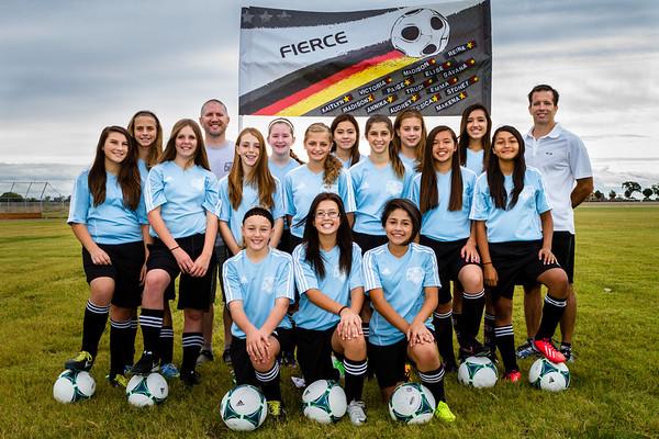 Soccer Team - Fierce 2013