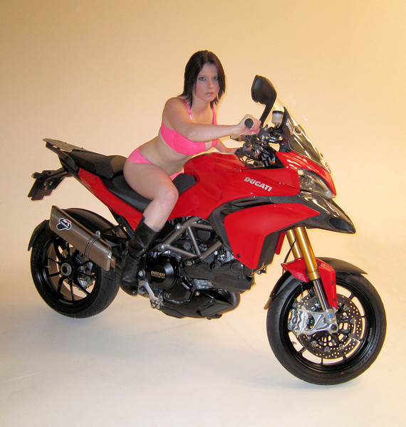 AndyW's MTS1200S / Multistrada 1200 Sport - Multistrada 1200 photo shoot (photoshoot) with  models 17Oct2010