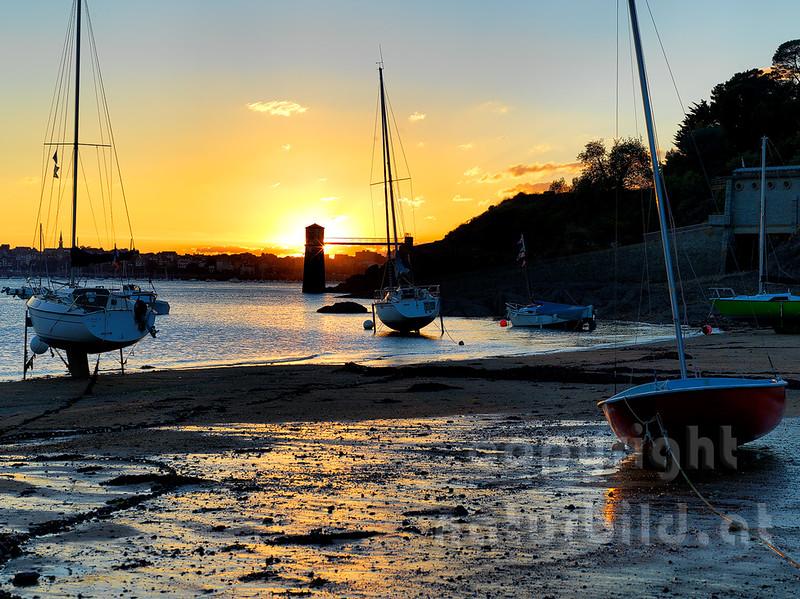 16B-01-180 - Sonnenuntergang in Saint-Malo