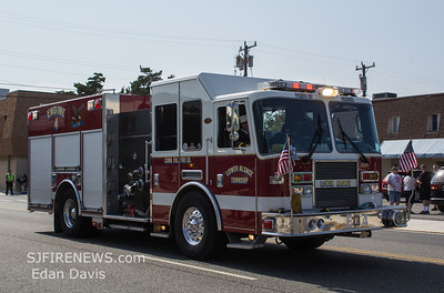 NJ Fireman's Convention Parade, Wildwood, Cape May County NJ