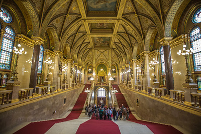 (1) Hungarian Parliament Budapest (inside)