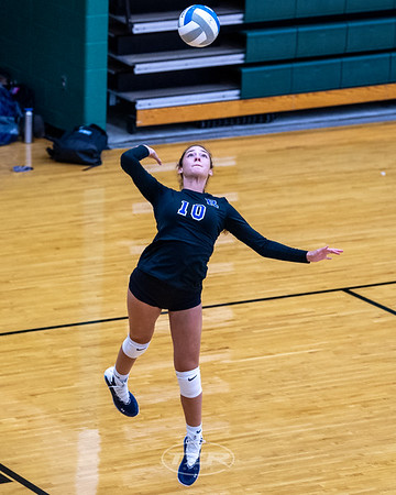 Varsity Volleyball:  Rochester vs. Grand Blanc 8/21/2021