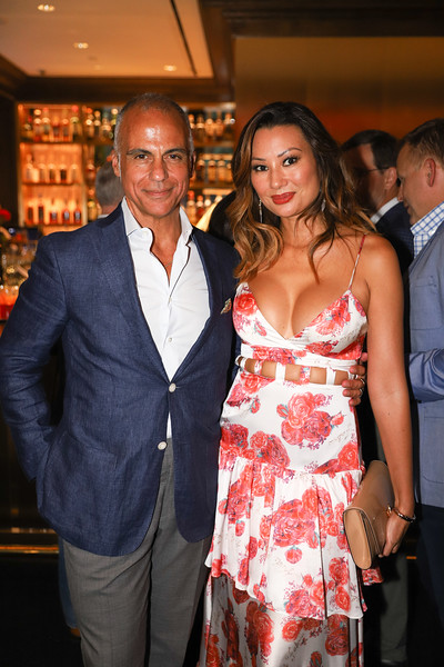 Mark Del Rosso, Teresa Foss - Del Rosso. photo by Bruce Allen, Wolfgang Puck Opening Reception 2019