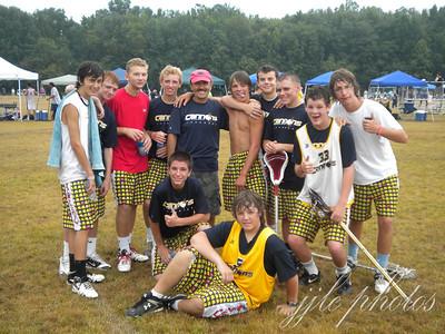 2010 Lax Heroes - Saturday's Fun in the Rain