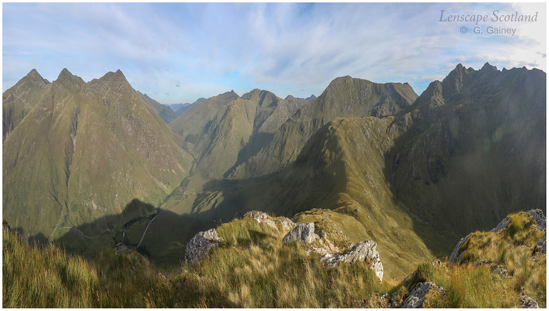 Five Sisters of Kintail and The Saddle from Biod an Fhithich