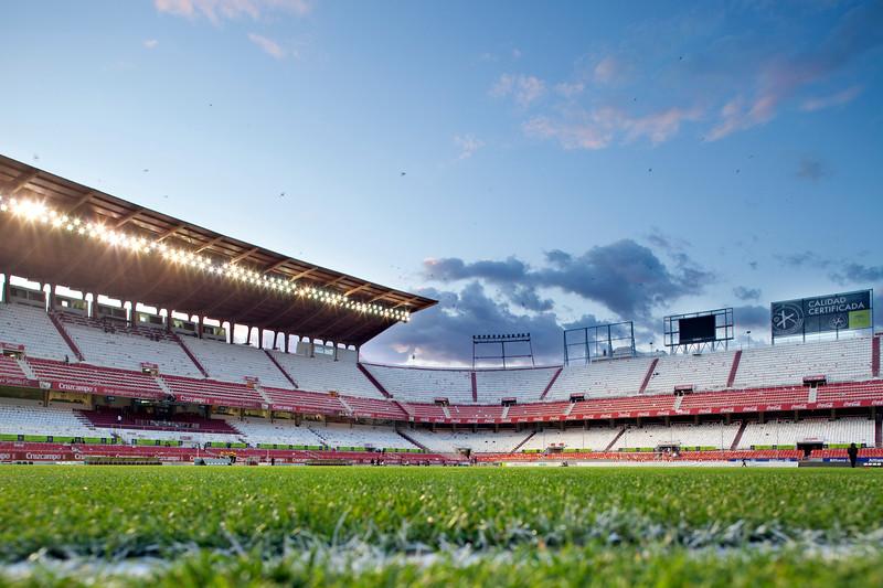 Spanish Liga football game between Sevilla FC and Real Madrid CF that took place at Sanchez Pizjuan stadium, Seville, Spain, on 26 April 2009