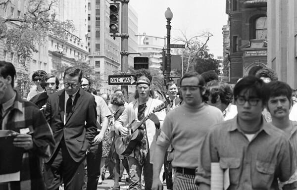 1970 Anti-war demonstration