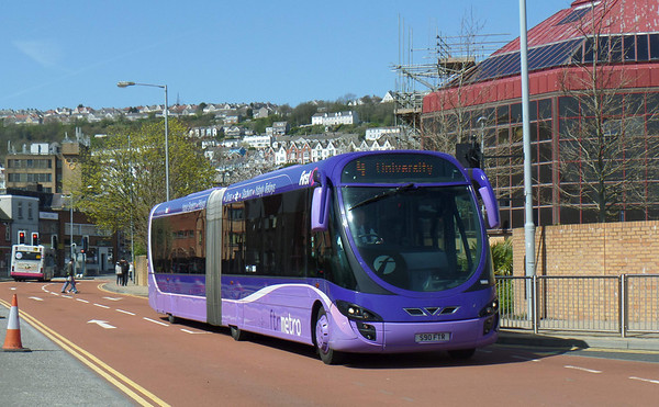 Volvo B7LA - Swansea's ftr