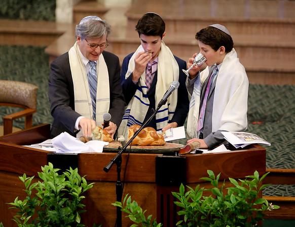 Manning & Ira's B'nai Mitzvah 1/21/17