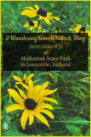 2020 Hike #31 on July 18th at Shakamak State Park in Jasonville Indiana (Trail 5)