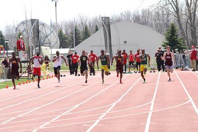 M&W 100 Meters - 2013 CMU Lyle Bennett Open