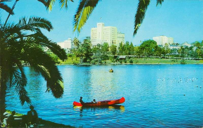 Lake in MacArthur Park