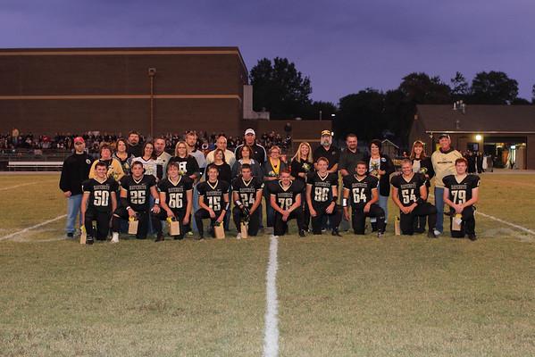 Football Senior Night 2015