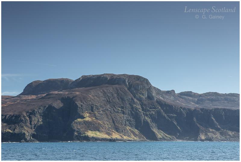 Beinn Tighe and west coast cliffs