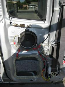 2008 Toyota Tacoma Access Cab Rear Door Speaker Installation - USA