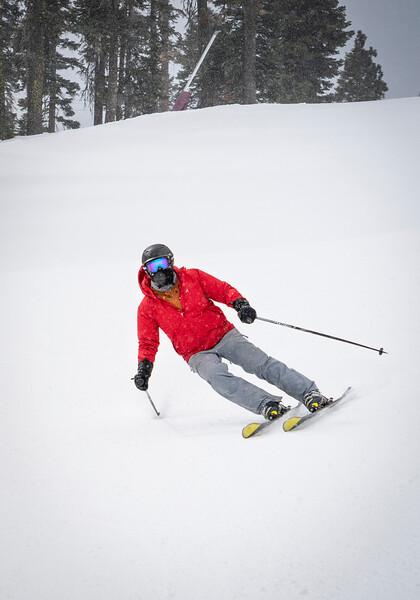 Skier at Northstar California Resort