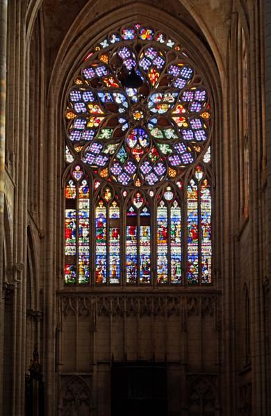 Saint-Quentin Basilica South Rose Window