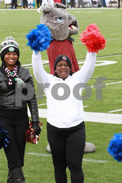 SCSU Alumni Cheeleaders Homecoming 11-1-2014