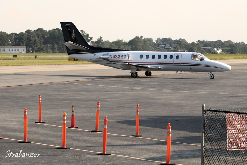 Cessna 560 Citation   c/n 560-0007 N933SP JAMES L CHAPPUIS MD PC, Atlanta, GA Arriving from Savannah/Hilton Head  KPDK, DeKalb, GA,   09/22/2017 This work is licensed under a Creative Commons Attribution- NonCommercial 4.0 International License
